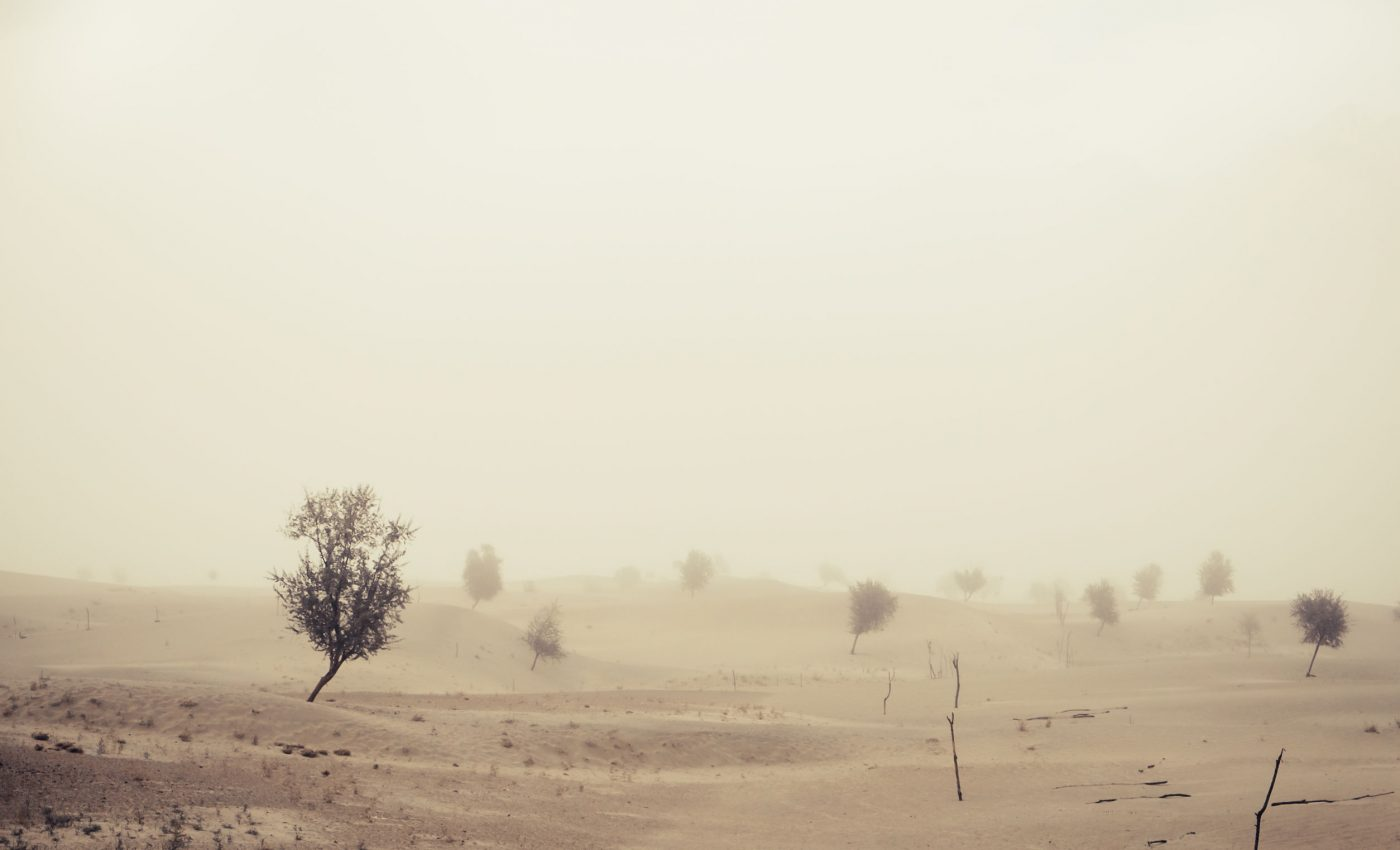 Dust Storm in Pakistan and India