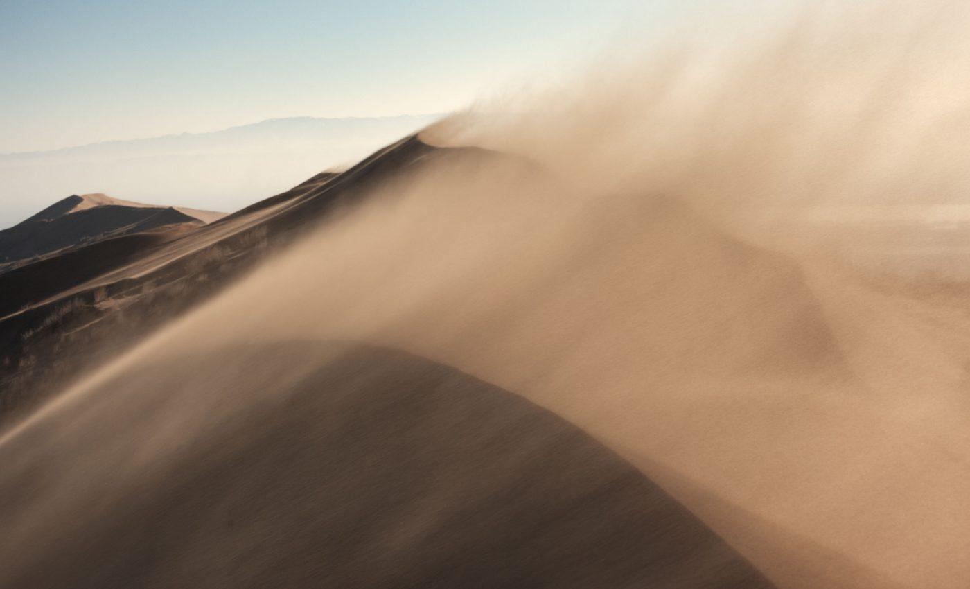 Dust Across Kazakhstan