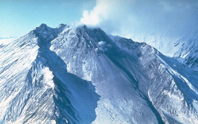 Eruption of Bezymianny Volcano