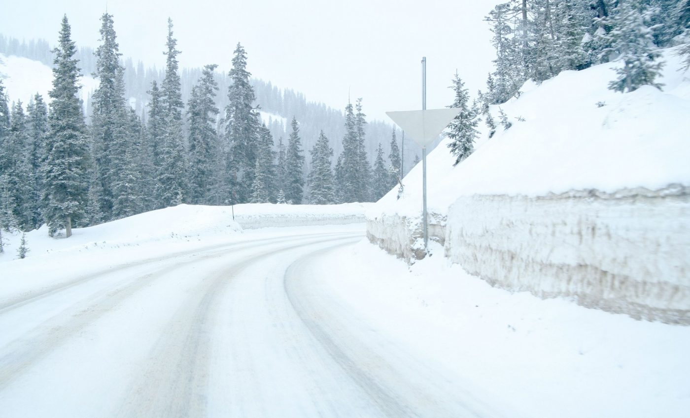 Snow Storm in Colorado