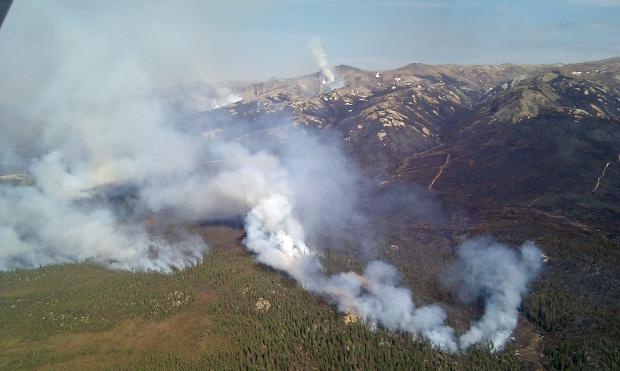 fires in eastern alaska