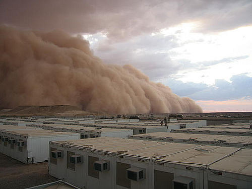 Dust Storms Over Iraq