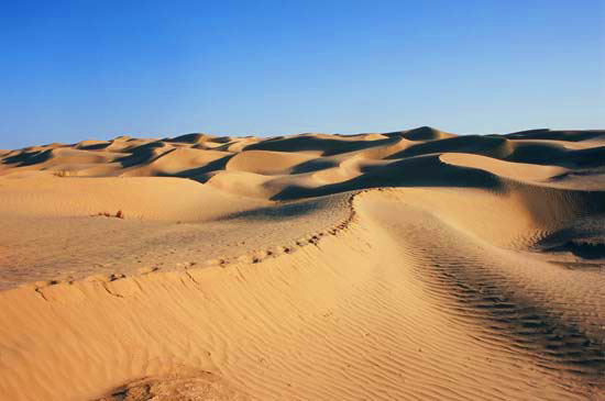 taklimakan desert western china