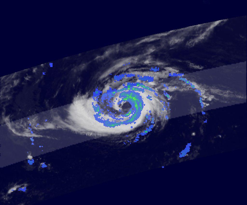 Hurricane Epsilon in the North Atlantic