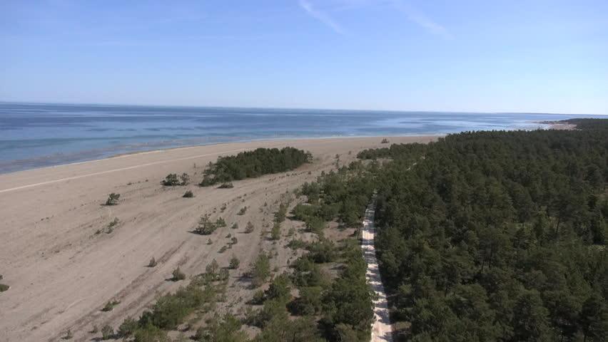 Gotland island in the Baltic Sea