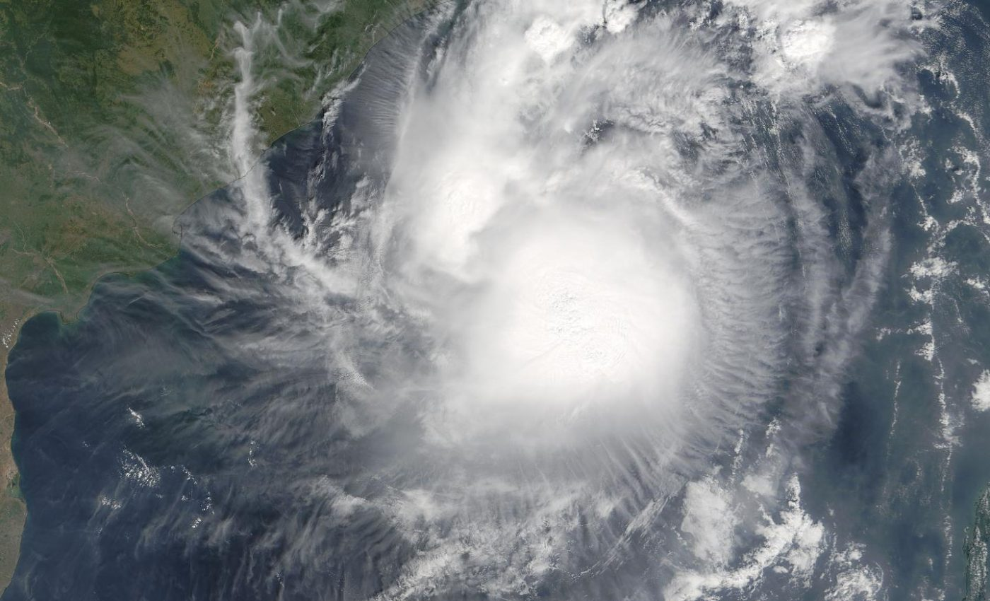 Cyclone Mala over the Bay of Bengal