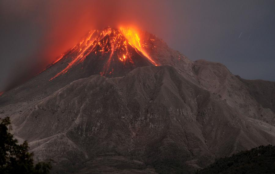 Eruption of Soufriere Hills Volcano
