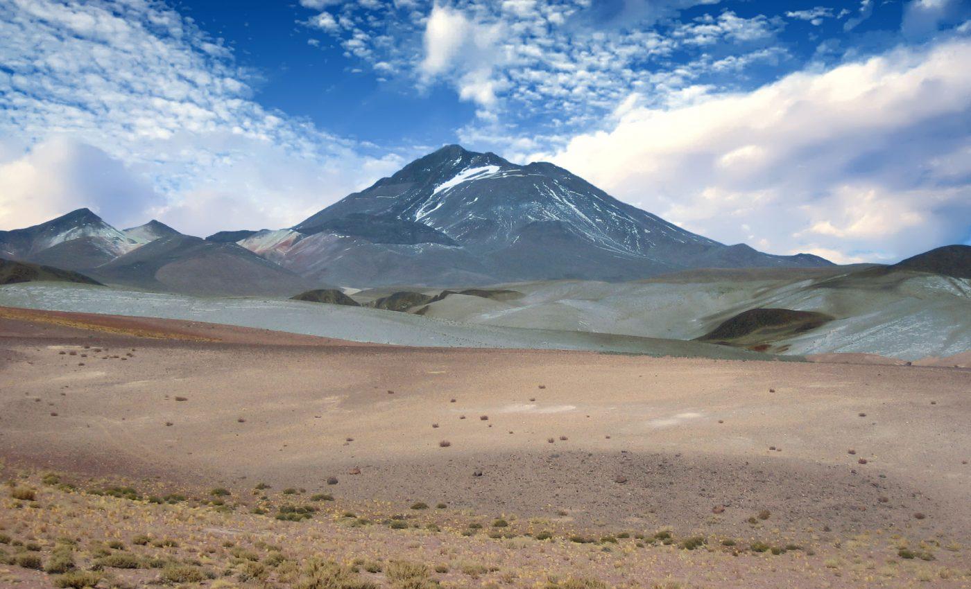 Llullaillaco Volcano