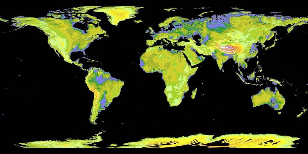 Global Digital Elevation Model