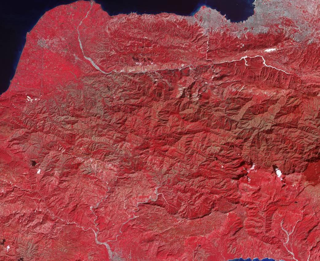 Quake Aftershock Damage Seen by NASA Satellite