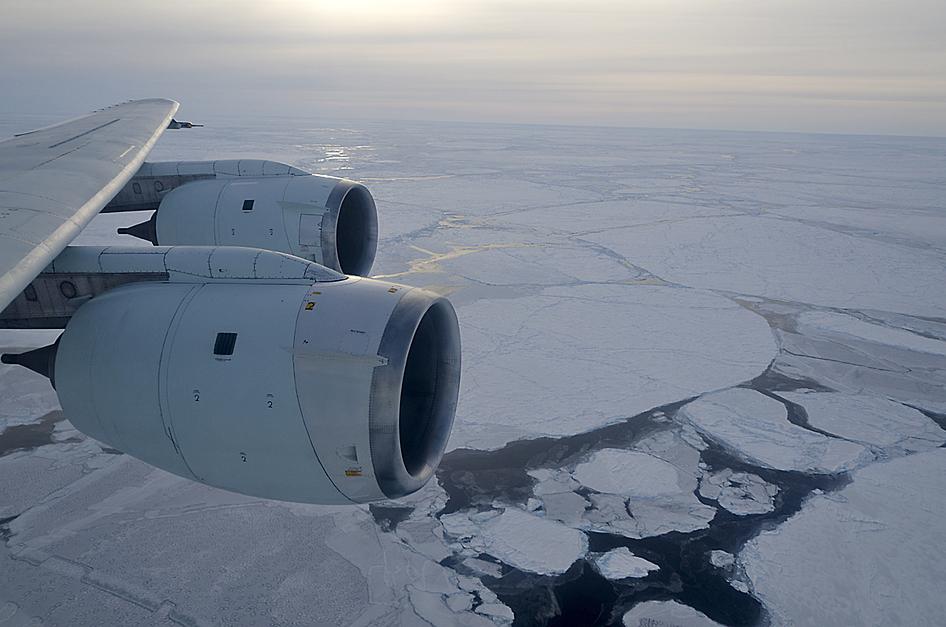 Sea Ice on Weddell Sea