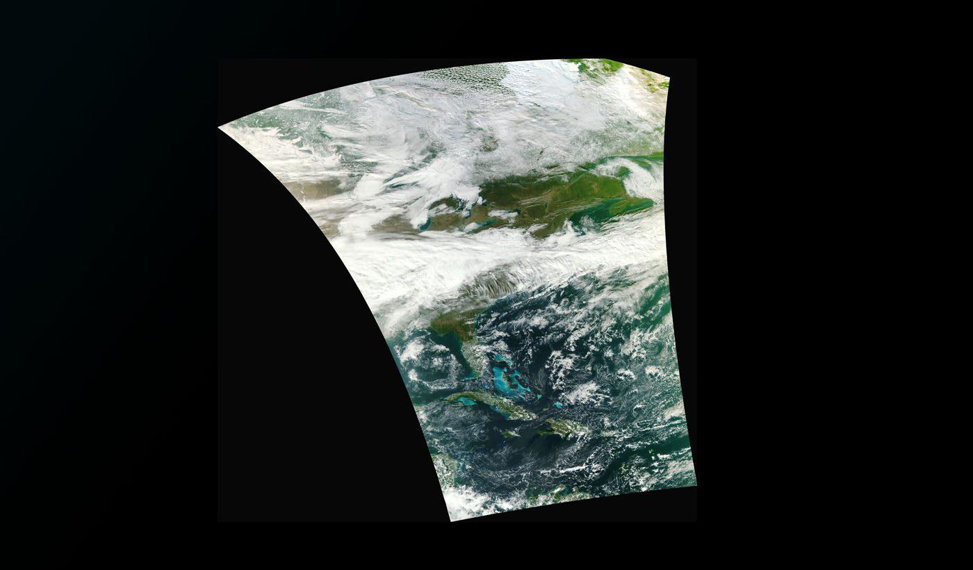 Suomi NPP Satellite Acquires First VIIRS Image