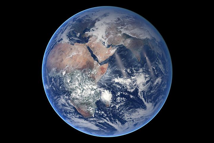 NPP's 'Blue Marble' - Eastern Hemisphere