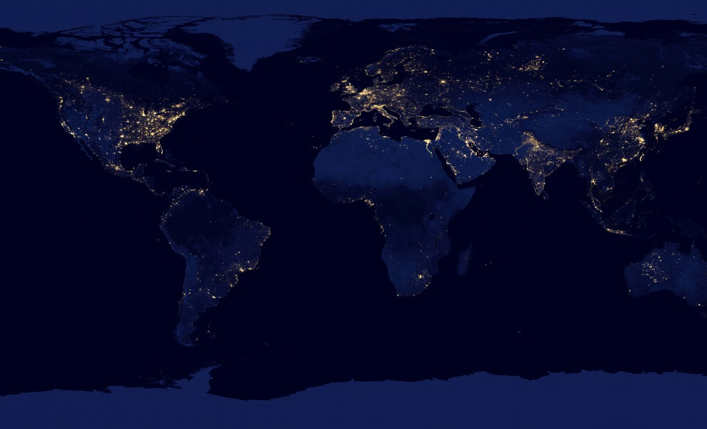 Satellite Reveals New Views of Earth at Night • Earth com