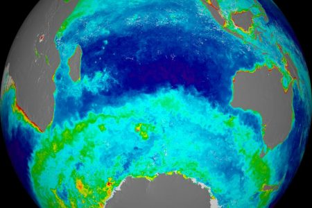 Ocean Chlorophyll Concentrations (Southern Hemisphere)