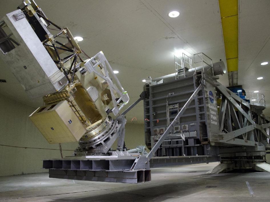 GPM Core Observatory Centrifuge Testing