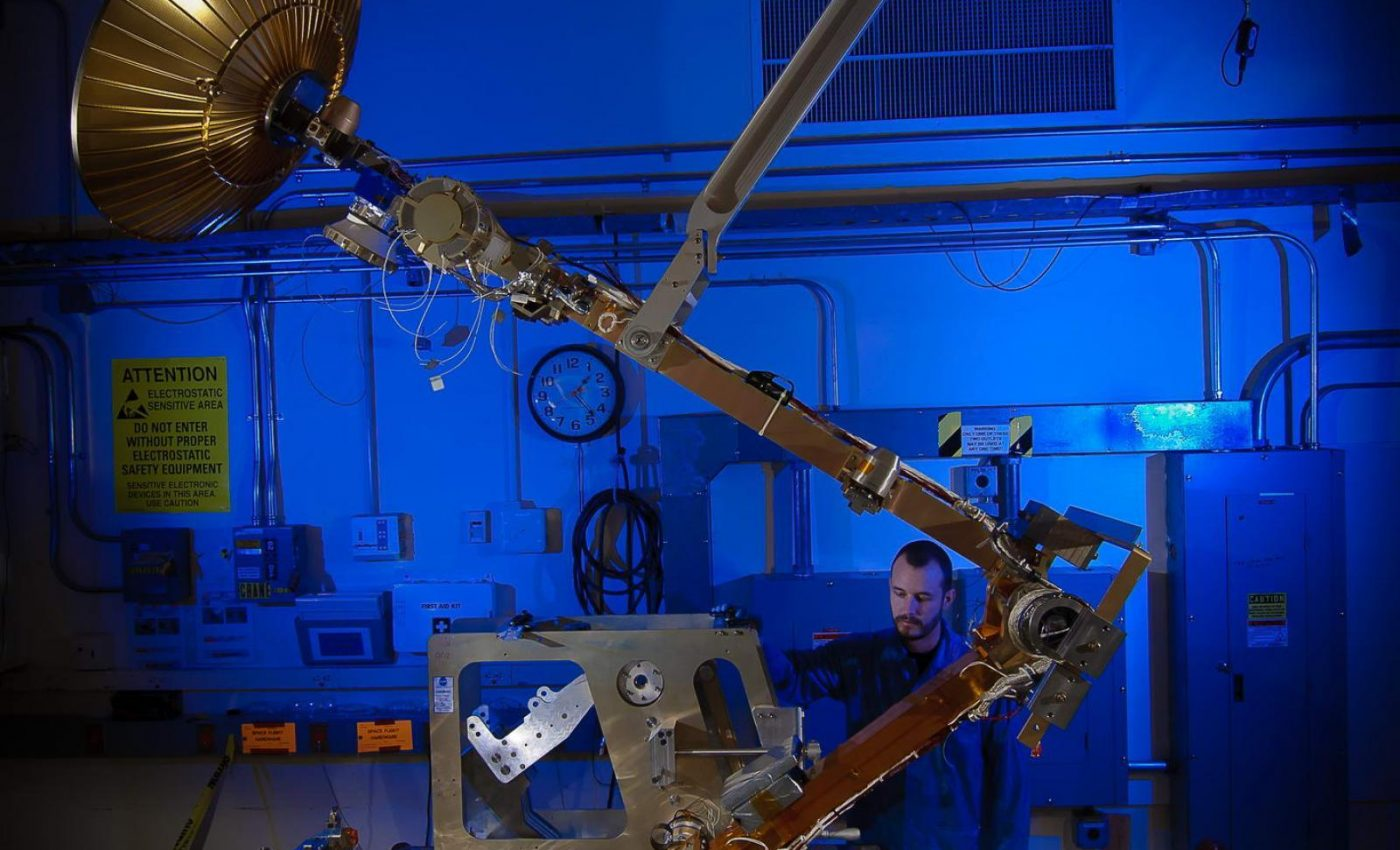 GPM High Gain Antenna System (HGAS) Testing