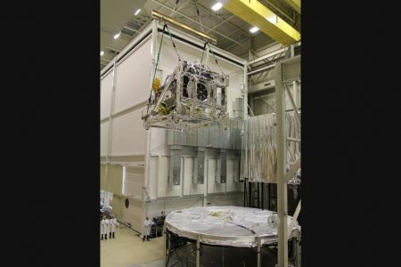Core Observatory Entering Thermal Vacuum Chamber