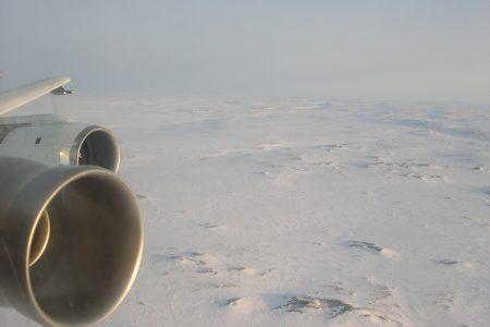 DC-8 in Flight