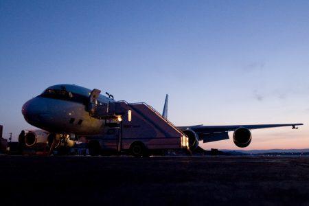 DC-8 at Dawn