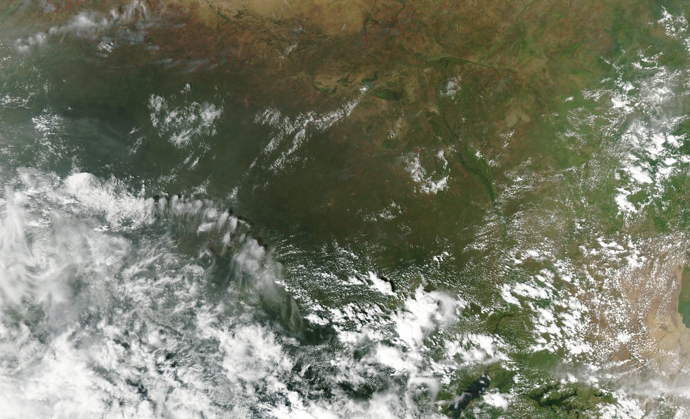 Fires in the Sahel and Savannas, Central Africa