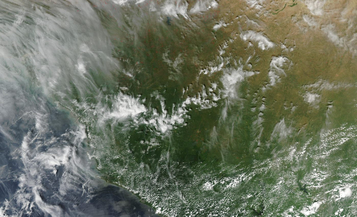 Fires in Mali, Mauritania, Senegal, Guinea
