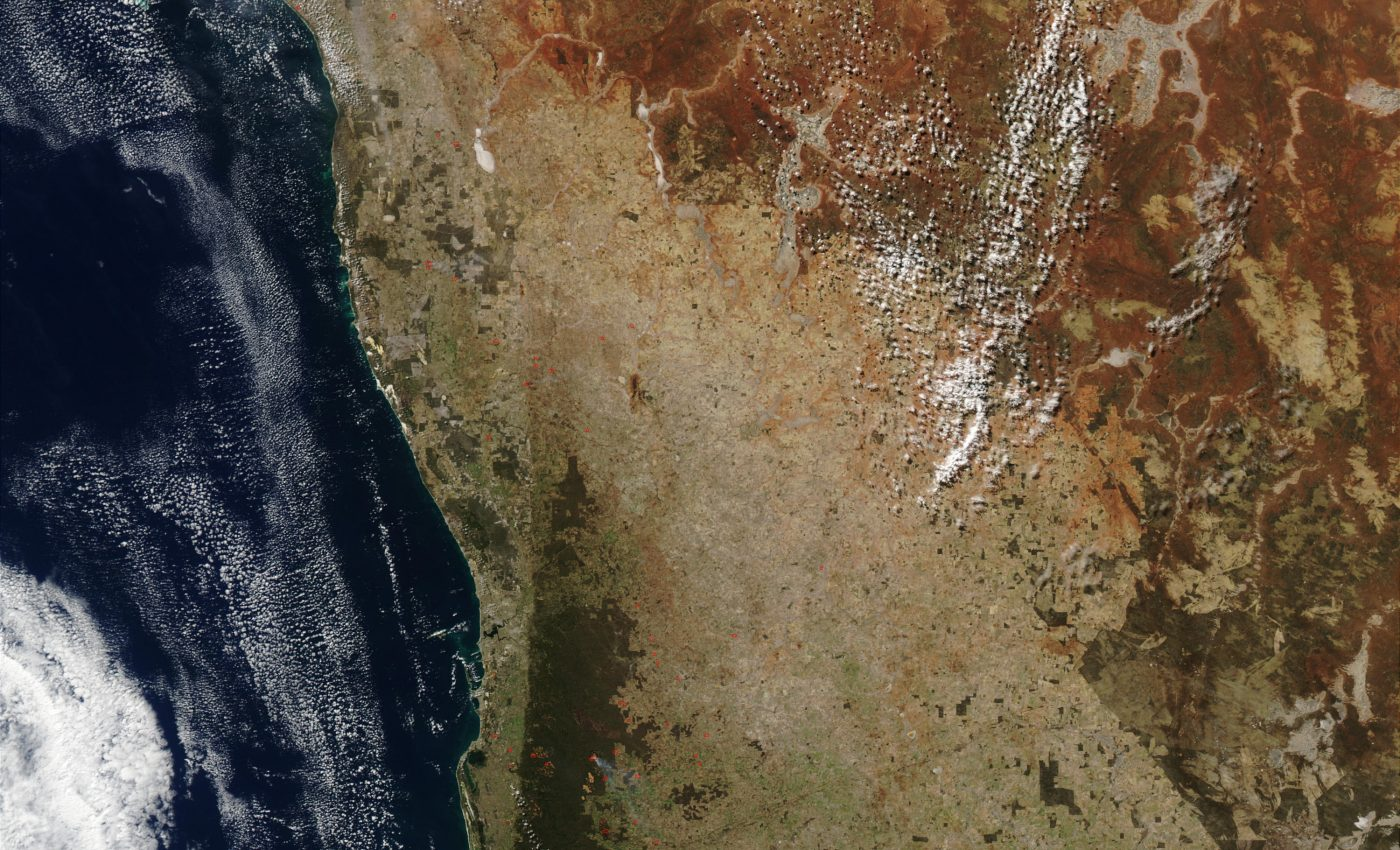 Fires in Southwest Australia