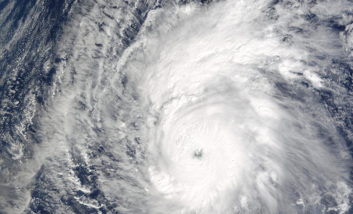 Typhoon Ponsona (31W) Near Northern Mariana Islands