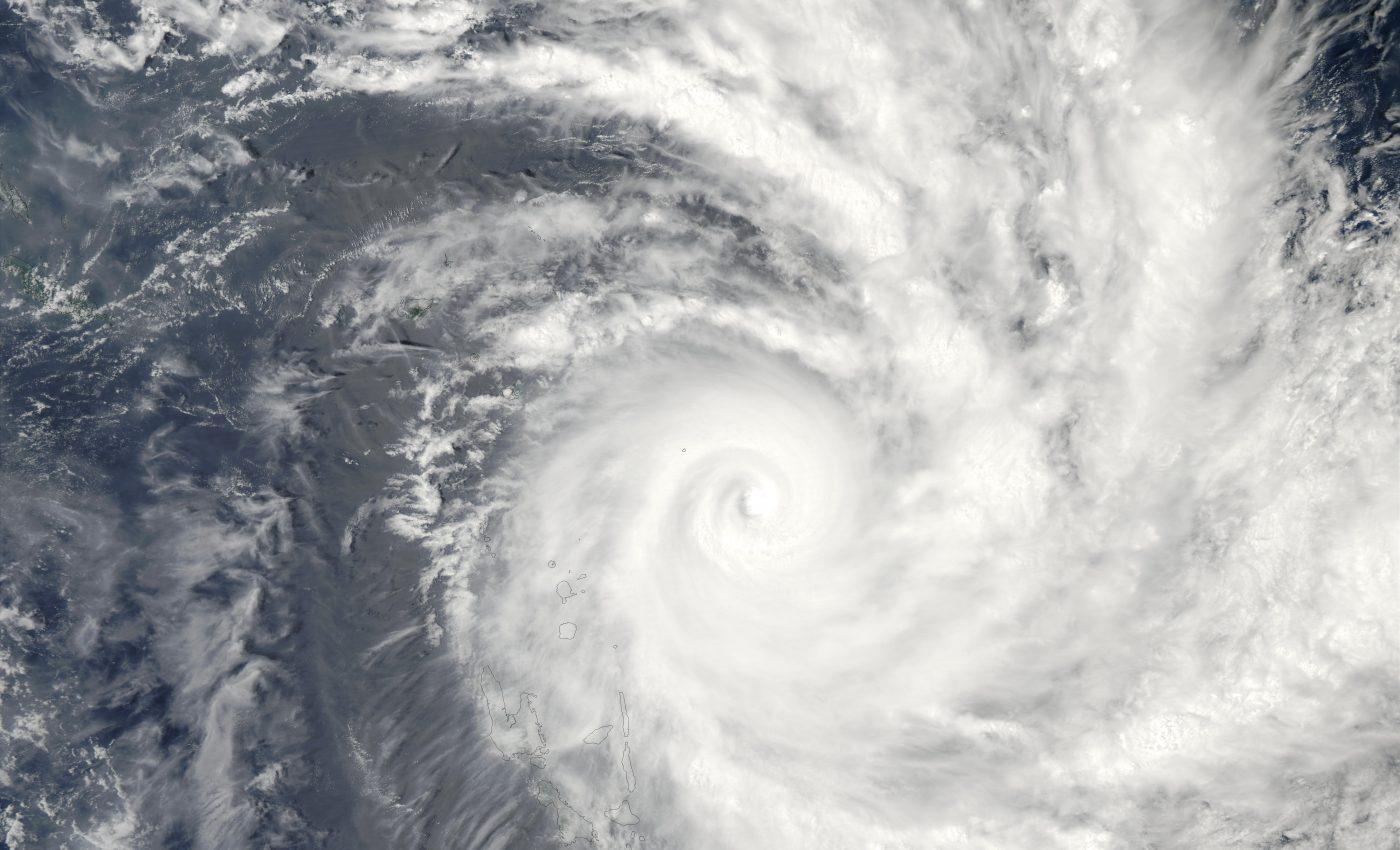Tropical Cyclone Zoe (06P) Northeast of Vanuatu, South Pacific Ocean