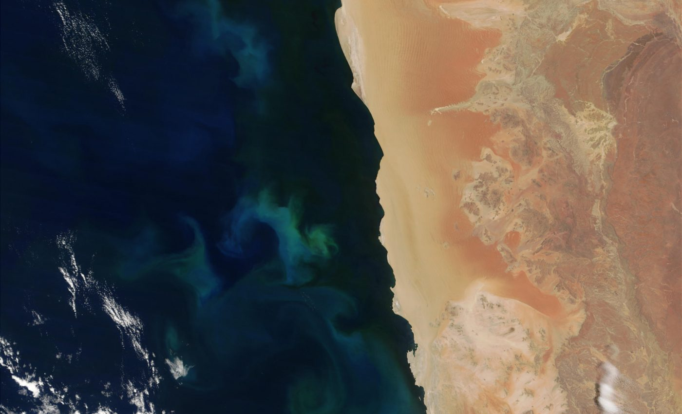 Sulfur Plumes off Namibia
