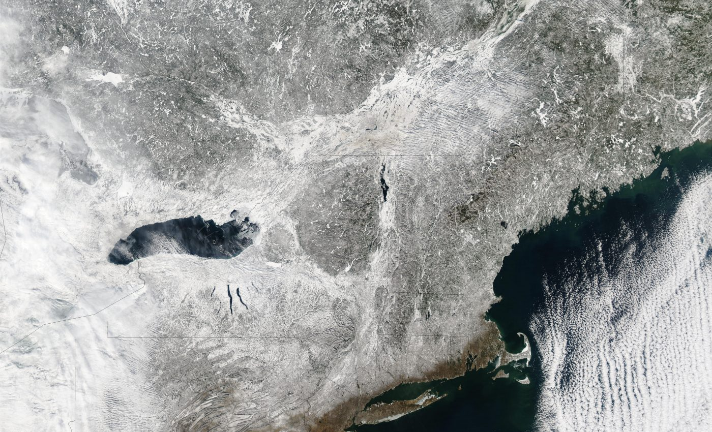 Snow in Northeast United States