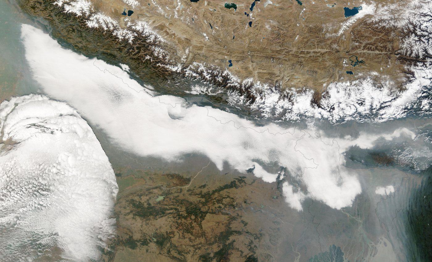 Haze and Smog in Northern India and Bangladesh