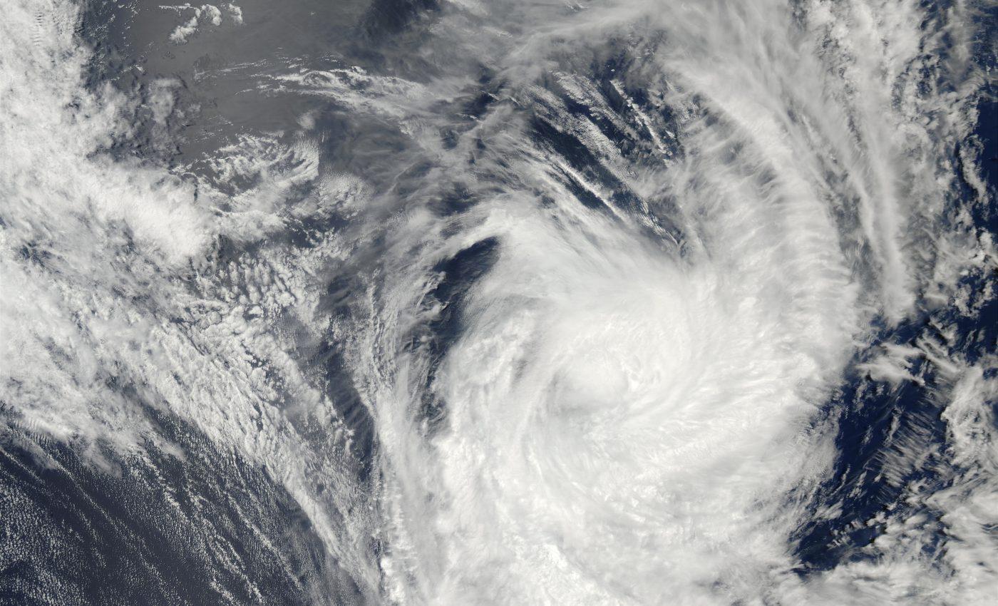 Tropical Cyclone Ami (10P) South of Tonga Islands, Pacific Ocean