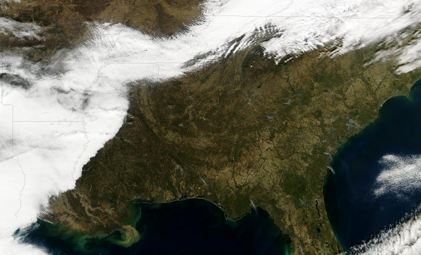 Fires Across the Southern U.S.