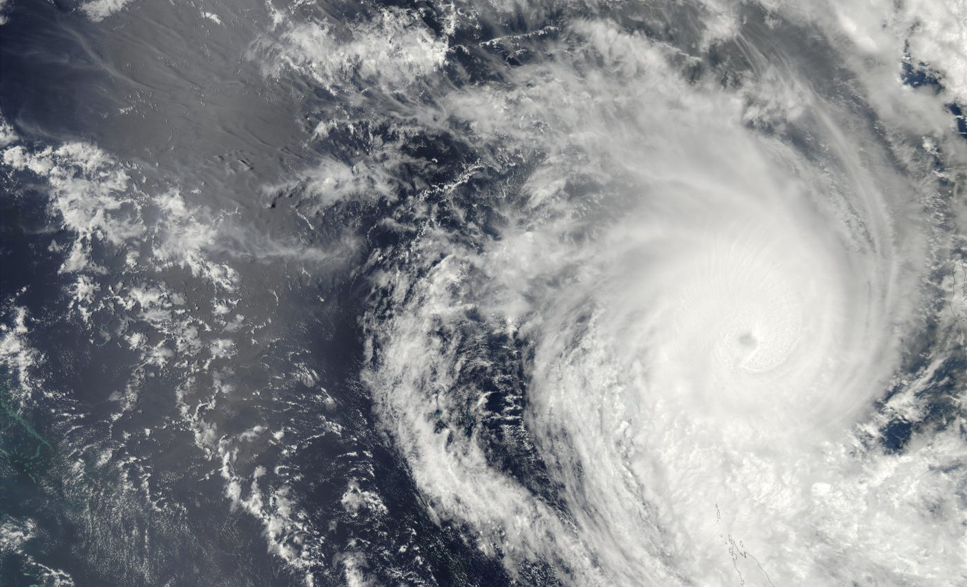 Tropical Cyclone Beni (12P), North of New Caledonia, Pacific Ocean