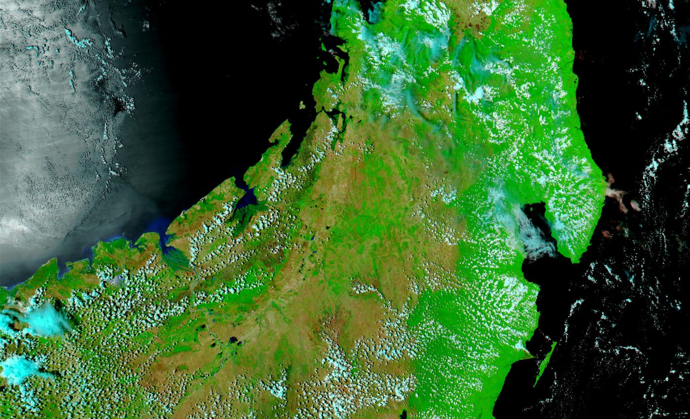 Northern Madagascar Before Floods