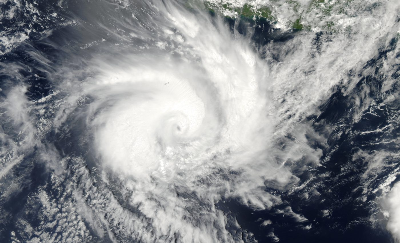 Tropical Cyclone Fiona (14S), South of Java