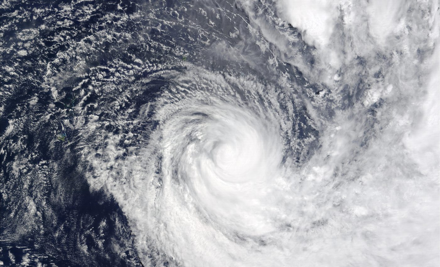 Tropical Cyclone Dovi (15P) Southeast of Sonoma, Pacific Ocean