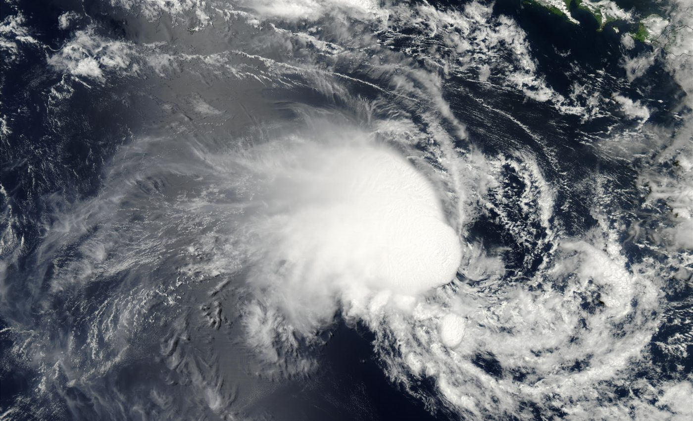 Tropical Cyclone Harriet (21S) Off Jave and Australia