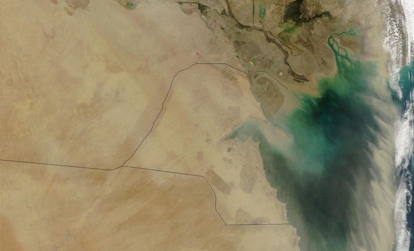 Dust Storm in Kuwait
