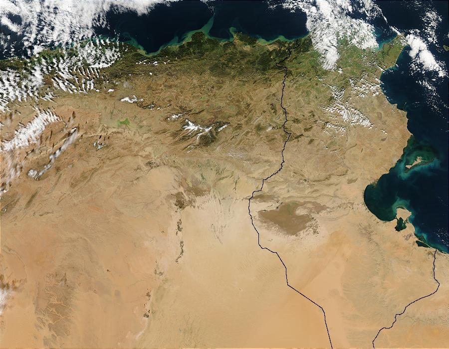Floods in Tunisia and Algeria