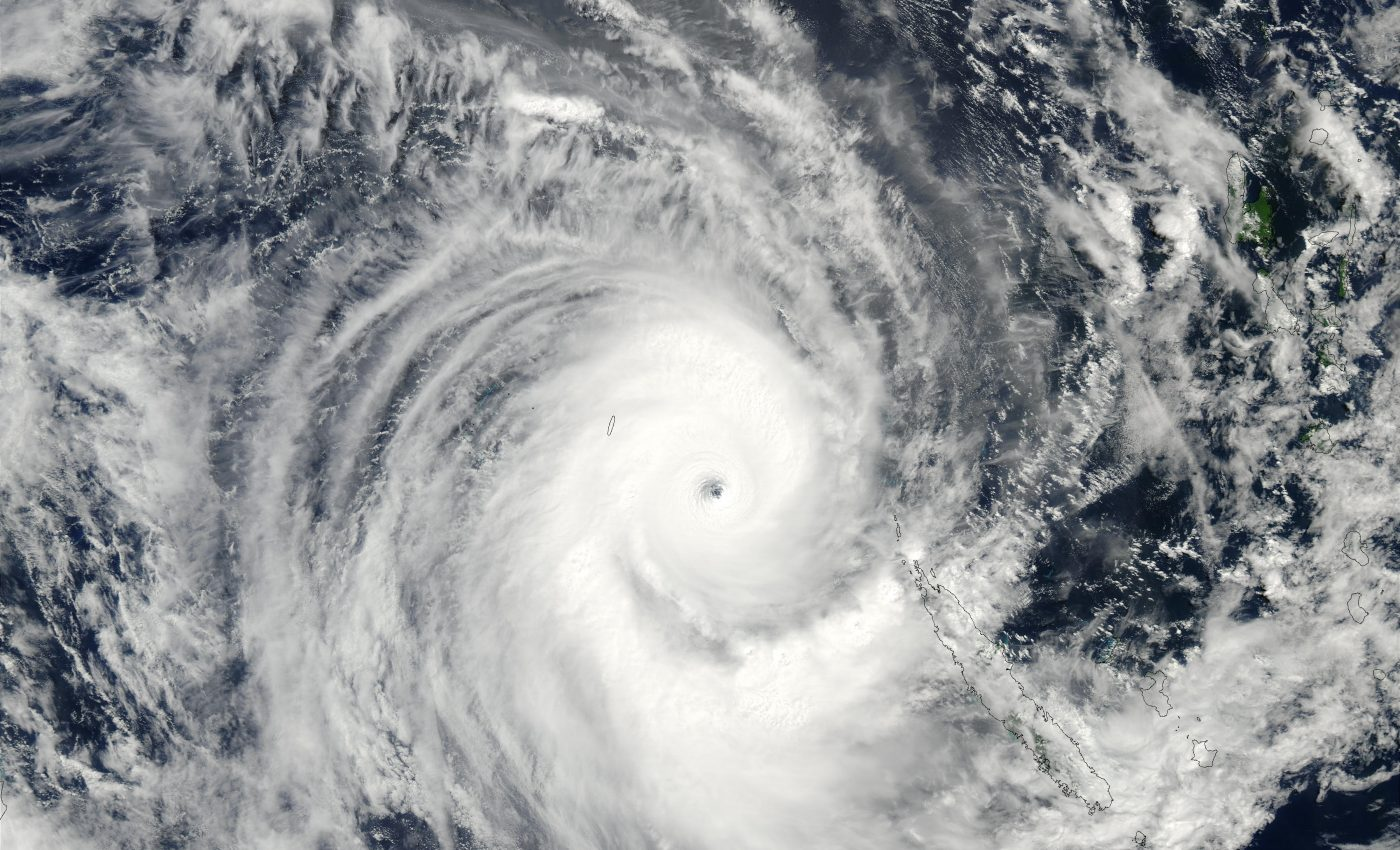 Tropical Cyclone Erica (22P) Off New Caledonia, South Pacific Ocean