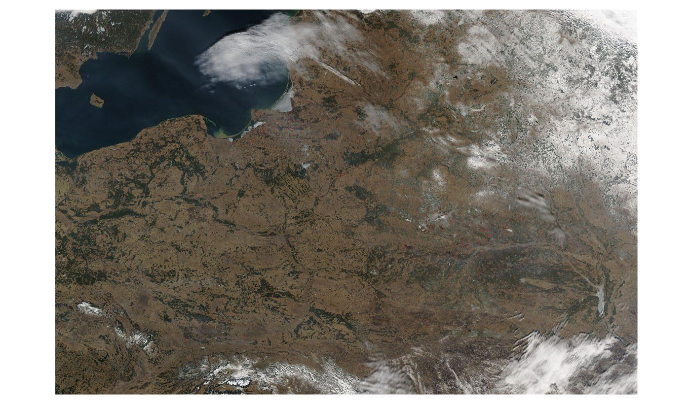 Fires in Northeastern Europe