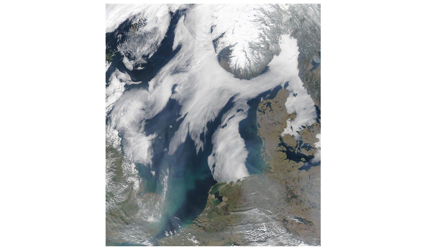 Sea Fog in the North Sea