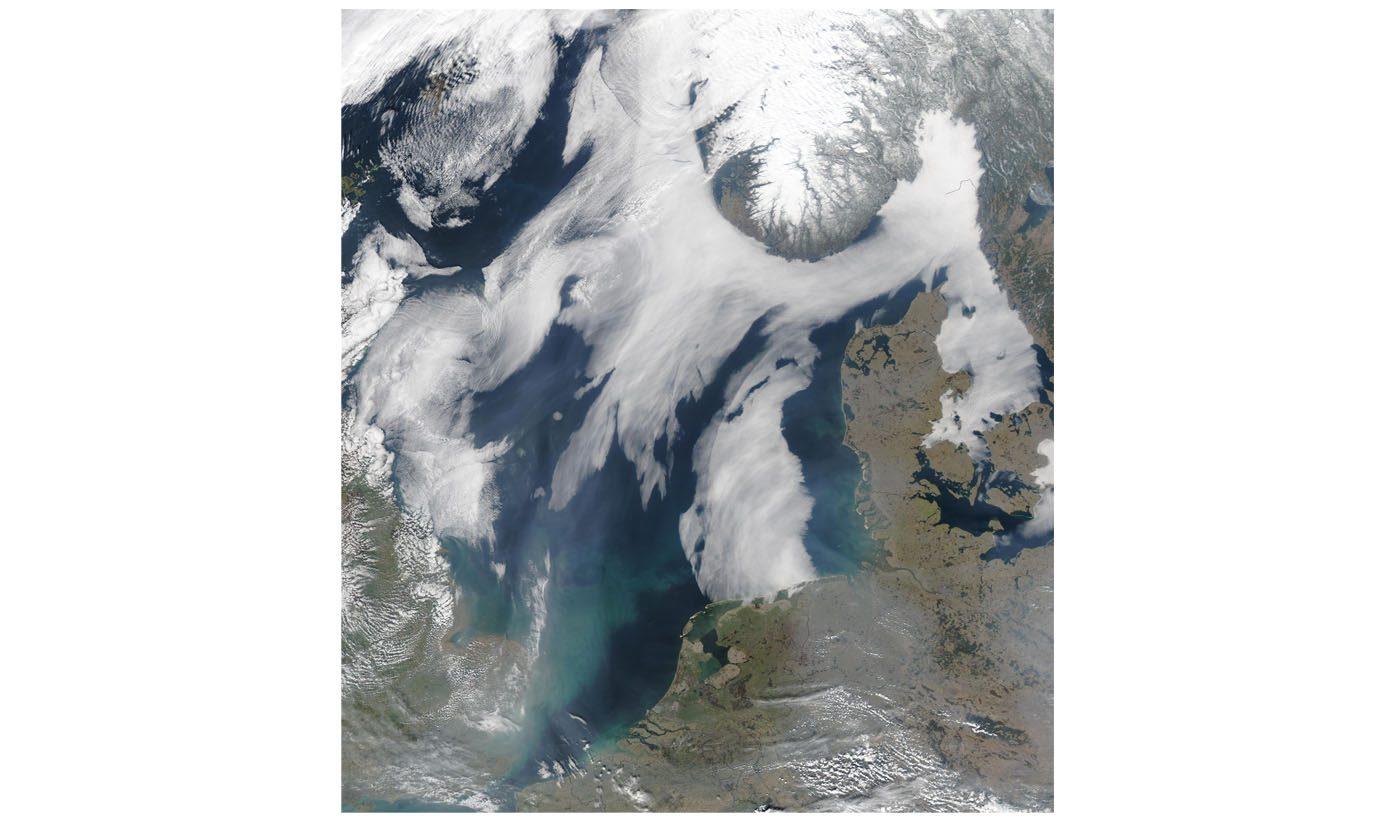 Sea Fog in Scandinavia