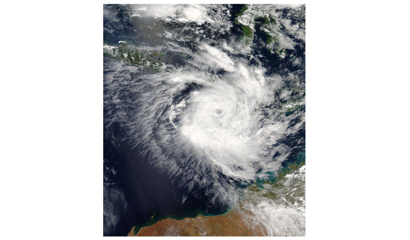 Tropical Cyclone Inigo (26S)Off Northern Australia