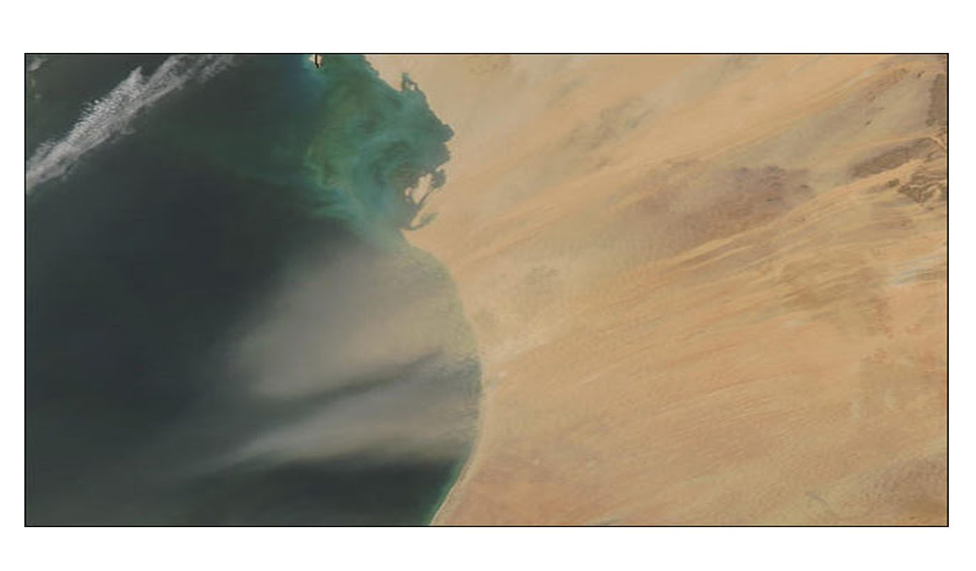 Dust Storm over Mauritania
