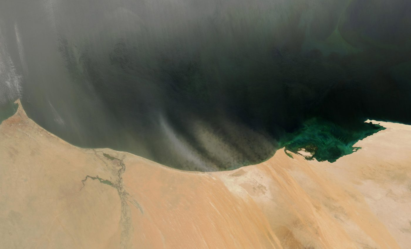 Dust Storms off West Africa