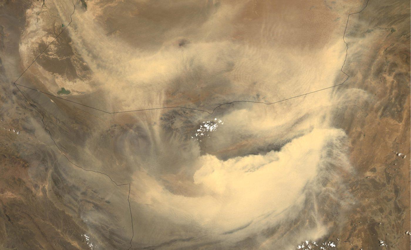 Dust Storms in Pakistan