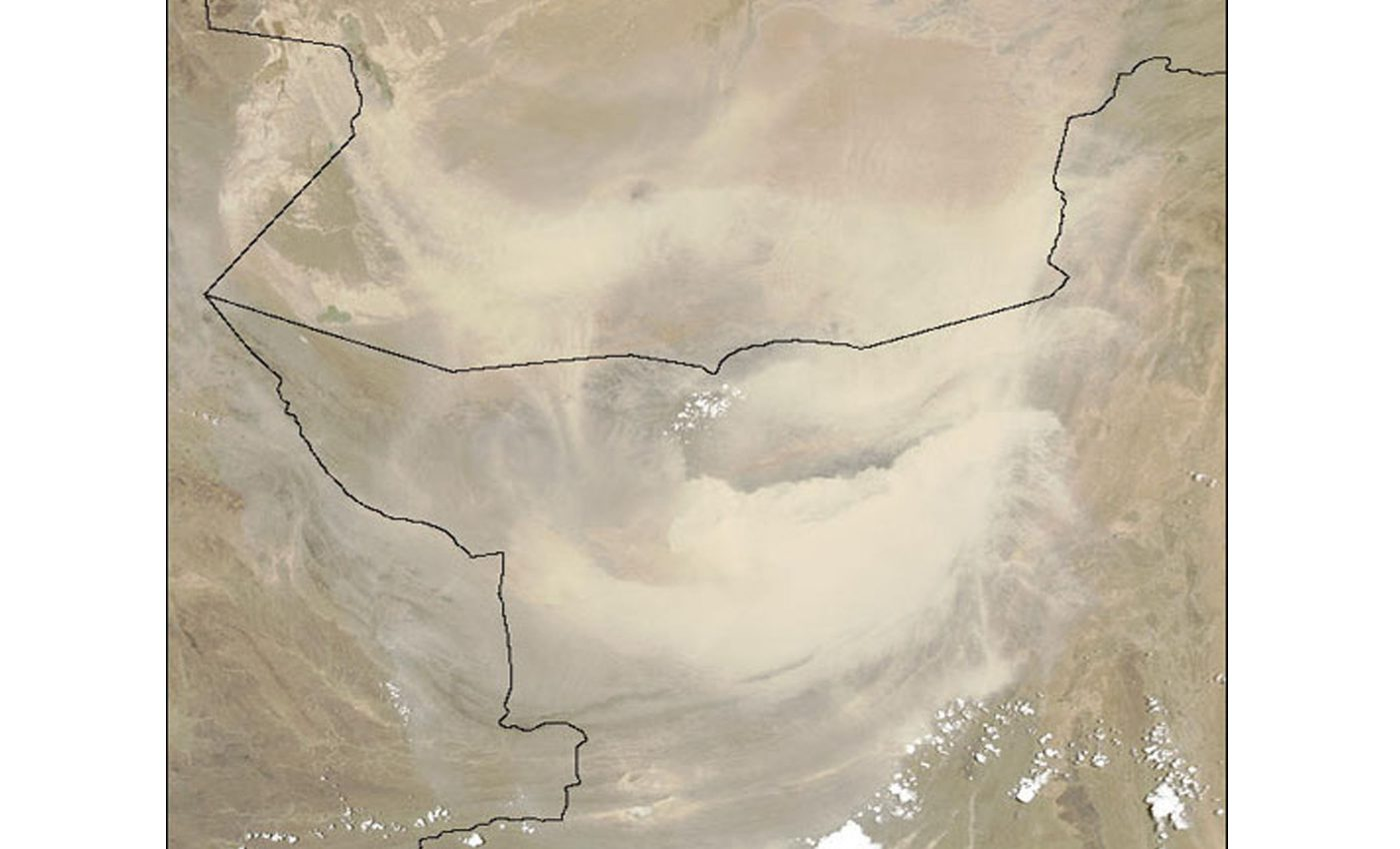 Massive Dust Storm in Pakistan